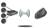 Tadibrothers Wireless Parking Backup Sensor System with Sound