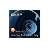 QNAP LIC-CAM-NAS-3CH 3 Camera Licence Activation Key for Surveillance Station Pro for QNAP NAS