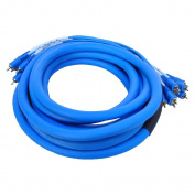 Seismic Audio 6.1m 8 Channel 6.1m RCA Audio Snake Cable 6.1m - Pro Home Audio - SARCA-8x20