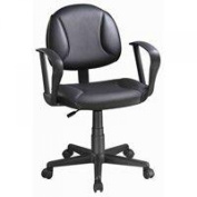 Homebasix CYS03-ARM022 Office Chair with Arms, Black