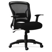 Lorell Flipper Arm Mid-back Chair -