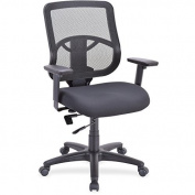Lorell Managerial Mid-back Chair -