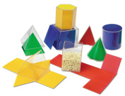 Learning Resources Folding Geometric Shapes Bundle