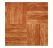 MAX CO LTD Sierra Pine Peel & Stick Vinyl Floor Tile, 30cm x 30cm .
