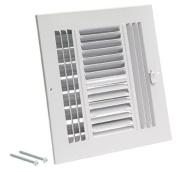 EZ-FLO 61618 Four-Way Sidewall/Ceiling Register