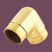 Tubing Connectors Pol Brass Elbow 90 Degree Fit 5.1cm Tube