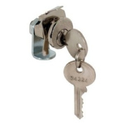 PRIME LINE PRODUCTS Mailbox Replacement Lock For Dura Steel With 2 Keys, Nickel Finish