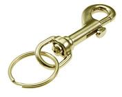 Lucky Line Brass Bolt Snap 45001