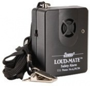 Secure Loud-Mate Pull Cord Tab Alarm Monitor for Falls Management - For Fall Risk Patient Wheelchair, Chair, and Bed Use - 120 dB, Tamper Resistant