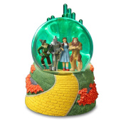 Emerald City Wizard of Oz Lighted Green Water Globe