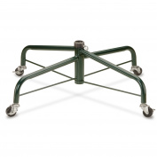 80cm Rolling Folding Tree Stand with Locking Wheels