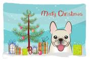 Christmas Tree and French Bulldog Fabric Standard Pillowcase BB1610PILLOWCASE