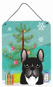 Christmas Tree and French Bulldog Wall or Door Hanging Prints BB1599DS1216