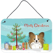 Christmas Tree and Papillon Wall or Door Hanging Prints BB1620DS812