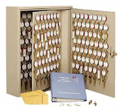 STEELMASTER Dupli-Key Two-Tag Cabinet for 300 Keys, 16.5 x 80cm x 13cm , Sand