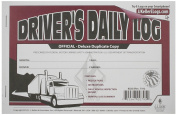 Deluxe Driver's Daily Log Book with Detailed DVIR