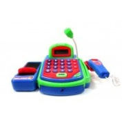 Az Import & Trading PS321 Pretend Play Electronic Cash Register Toy - Green