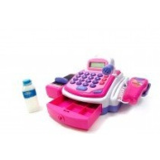 Az Import & Trading PS15C Electronic Cash Register Toy - Pink