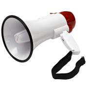 Seismic Audio Lightweight Portable Megaphone with Siren - New for use in live Sound - SA-MEGA2