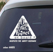 Baby on board vinyl sticker VPCE34