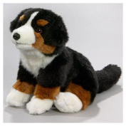 Soft Toy Bernese Mountain Dog Puppy, 21cm. [Toy]