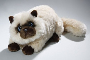Soft Toy Cat Persian, Siam, beige 30cm. [Toy]
