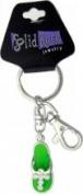 Key Chain Bag Charm Green Sandal