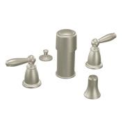 MOEN Trim Kits Brantford 2-Handle Bidet Faucet in Brushed Nickel (Valve Not Included) T5225BN
