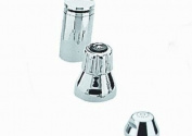 Seabury 2-Handle Wideset Bidet Faucet in StarLight Chrome