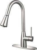 Hardware House LLC 16-3002 Single Handle Kitchen Faucet