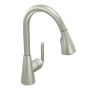 Moen S71708CSL Ascent 1-Handle Pulldown Kitchen Faucet, Classic Stainless