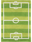 Kid's Rug Football - pollution-free - 100% Polyester - Abstract - Machine woven - Children's room