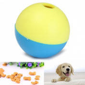 PhilMat Pet Cat Kitty Puppy Play Toy Food Ball Food Treat Feeder Dispenser