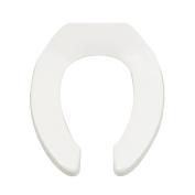 American Standard Heavy Duty EL Open Front Toilet Seat