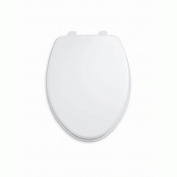 American Standard Seats Rise and Shine Elongated Open Front Toilet Seat in Bone 5325.024.021