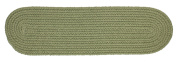 Rhody Rug Solid Olive Stair Tread