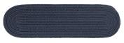 Rhody Rug Solid Navy Stair Tread