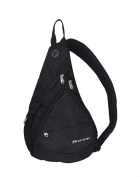 Soarpop BB4361 MBK Triangle Waist Bag/ Outdoor bag/ Fashion Triangle Bag/Chest Bag/Monostrap Backpack/Canvas Backpack Cross Body Bags
