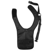 Homgaty Travel Security Holster Strap Anti-Theft Money Passport Ticket Shoulder Bag
