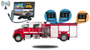 Tadibrothers 18cm Wireless Ultimate Fire Truck Backup Camera System