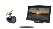 Tadibrothers 8.9cm Monitor with 170 Degree Bumper Backup Camera
