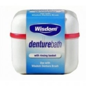 THREE PACKS of Wisdom Denture Bath by Wisdom