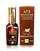 ATZ BERBERS - Organic Argan Oil treatment, GUARANTEED 100% Pure For Your Beauty and Skin Care, Beard Oil, Scalp and Hair Treatment - 1.7 oz/50 ml, The Best Moroccan Virgin Argan Oil treatment also used as an Anti-Ageing, Anti-Wrinkle, Beauty Secret, Ec ..