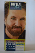 TOP TEN for Men,Permanent colour cream for hair,beard and moustache - 06 BLOND. Effect visible after 10 min.