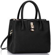 Ladies Tote Bags Women's Fashion Designer Celebrity Padlock Shoulder Handbag Quality Faux Leather With Strap CWS00195A CWS00408 CWRM0041