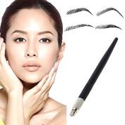 VANKER Fashion Permanent Handmade Manual Cosmetic Tattoo Eyebrow Makeup Pen