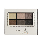 Wawoo Long-lasting 5 Colours Mineral Matte Shimmer Brand Eyeshadow Palette, Naked Smokey Eyeshadow Palette By Mivagirl£¬8 colour sections for choice
