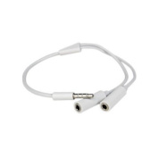 TheFlyingWhopper Headphone Audio Jack Splitter- Works with all iPhones, iPads, iPods, laptops, tablets and smartphones. MP3/4 players and all Audio that takes 3.5mm Jacks
