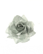 Zac's Alter Ego® Rose Flower on Concord Clip & Brooch Pin