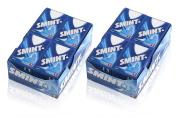 24x Smint ORIGINAL SUGAR FREE MINTS 40 Pastilles 8g Sugarfree With Xylitol